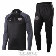 Chandal del Paris Saint-Germain Jordan Nino 2018-2019 Negro