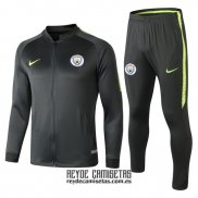 Chandal del Manchester City 2018-2019 Verde Oscuro