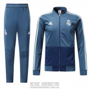 Chandal del Real Madrid 2018-2019 Azul
