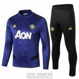 Chandal del Manchester United 2019-2020 Azul