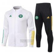 Chandal de Chaqueta del Celtic 2020-2021 Blanco