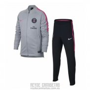 Chandal del Paris Saint-Germain Nino 2018-2019 Gris