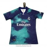 Tailandia Camiseta De Futbol Real Madrid Ea Sports 2018-2019 Azul