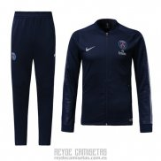 Chandal del Paris Saint-Germain Nino 2018-2019 Azul