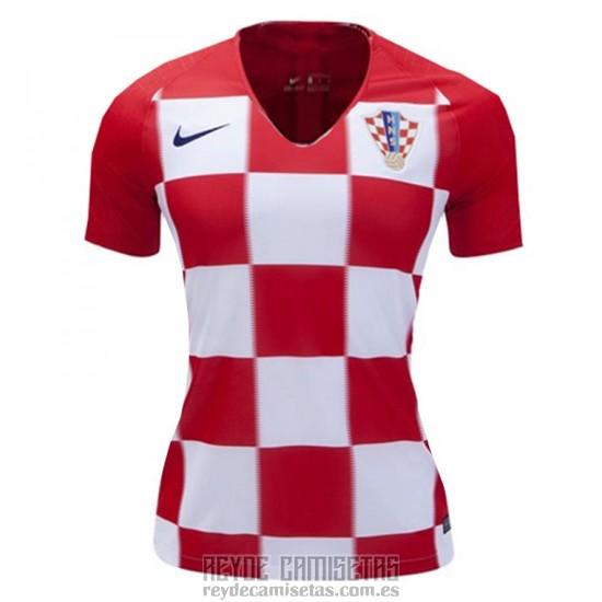 d2c295cb9f7 ... 156c2ba376111 Camiseta De Futbol Croacia Primera Mujer 2018. Loading  zoom ...