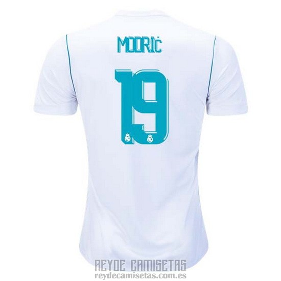 Camiseta De Futbol Real Madrid Primera Jugador Modric 2017-2018 071cc166b77fc