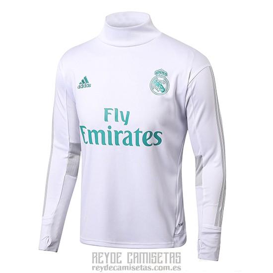 2da3c9650 Sudadera Del Real Madrid 2017-2018 Blanco