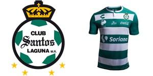 Camiseta de futbol Santos Laguna barata replica 2018 ... 0c0860784be21