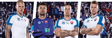 camisetas de futbol baratas Eslovaquia