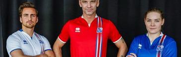camisetas de futbol Islandia