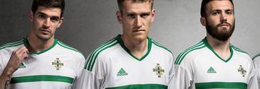 camisetas de futbol irlanda del norte